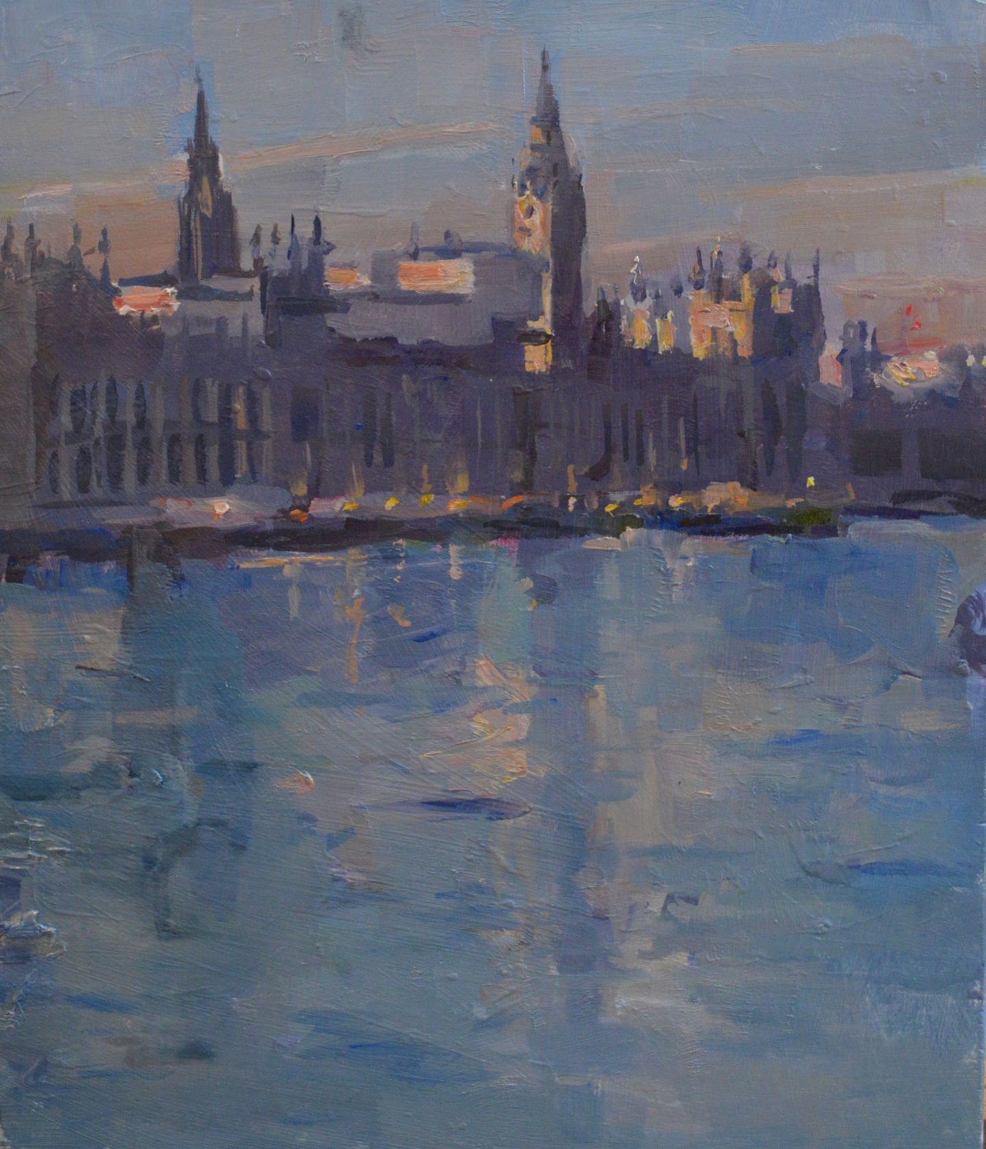 Parliament from the river