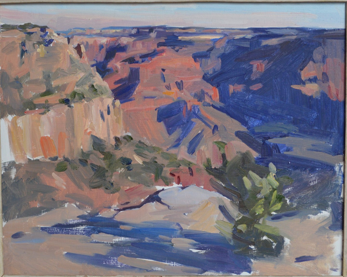 Canyon sketch