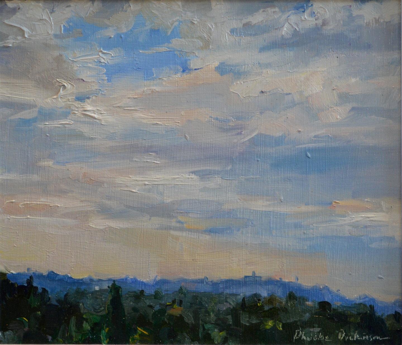 French sky study