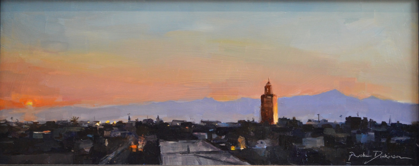 Sunrise in Marrakech