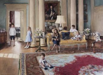 The Bamford Grandchildren at Daylesford House