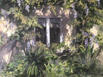 The Wisteria Window